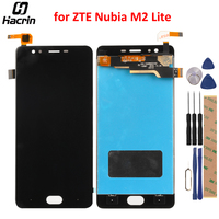 For ZTE Nubia M2 Lite LCD Display Touch Screen 100 Tested Digitizer Assembly Replacement For ZTE