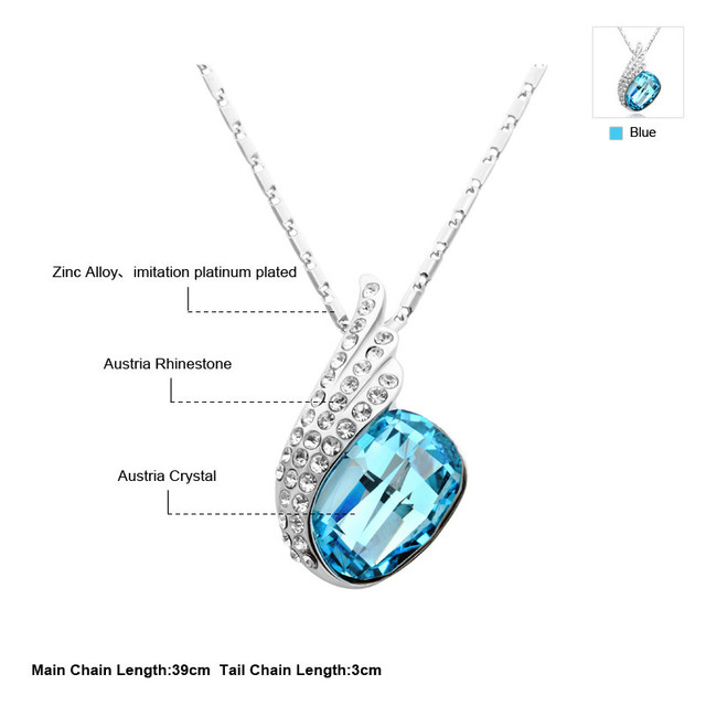 Neoglory Austrian Crystal Zinc Alloy  Necklace & Pendants for Women Jewelry 2017 New B1