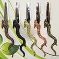 Alta Clase Pro 1 Unids Maquinilla de Afeitar Del Pelo En El Diseño Único, Dragón Pelo T-09 Balde De 5 Colores Hair Shaper Salon Razor Aleación De Zinc maquinilla de AFEITAR