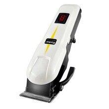 Профессиональная мужская электробритва, бритва, салонная машинка для стрижки бороды, триммер для ухода за волосами переменного тока 100-240 В, перезаряжаемый триммер для волос с вилкой ЕС