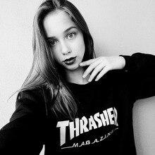 Xxs trasher thrasher magazine sweatshirts hop harajuku sweatshirt skateboard hoodies hip