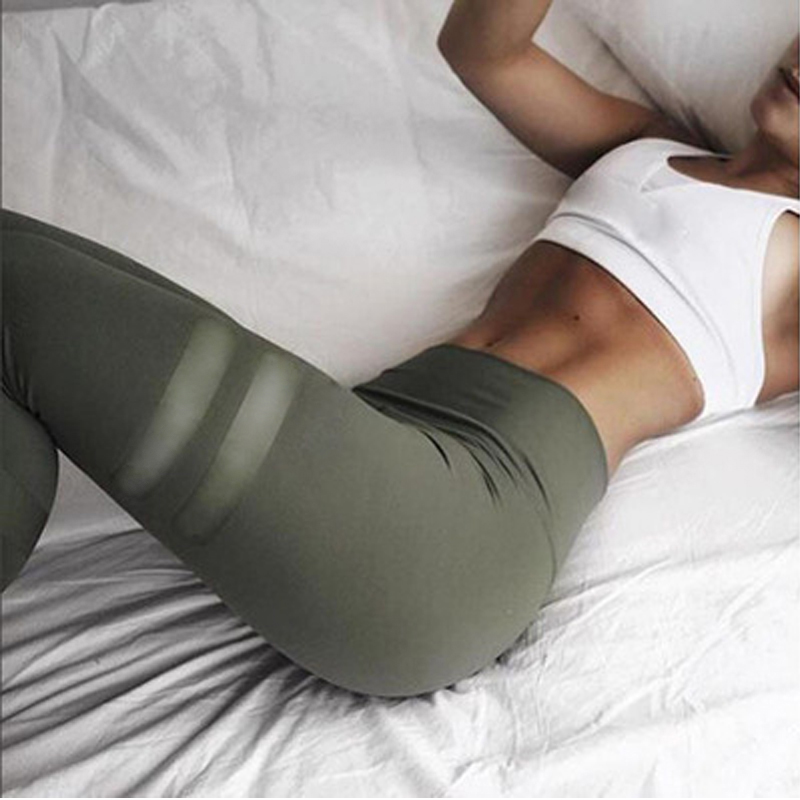 Leggings   fitness   Leggings   For Women Sporting Workout Leggins Elastic Slim Black Green Pink Pants High Elastic jogger Trousers