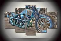 Hd Printed Motorcycle Painting On Canvas Room Decoration Print Poster Picture Canvas Free Shipping Ny 2004