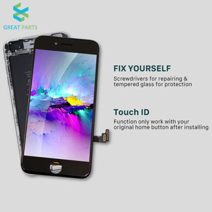 Image 2 - Voor Iphone 8 Plus Lcd Display Oem Incell Advance Hoge Kwaliteit Touch Screen Montage Vervanging Goede 3D Touch Gratis Schip