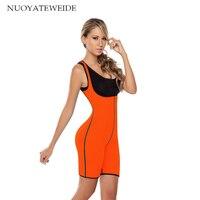 Hot Shapers Bodysuit Sauna Suit Waist Trainer Corsets Neoprene Body Shaper Redu Cincher Women Slimming Full