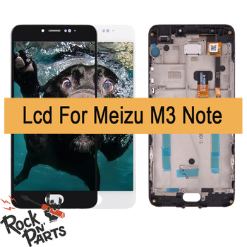 Conjunto do visor LCD Para Meizu M3 Nota M681H com Montagem Digitador Da tela de toque e quadro de Substituição + Ferramentas