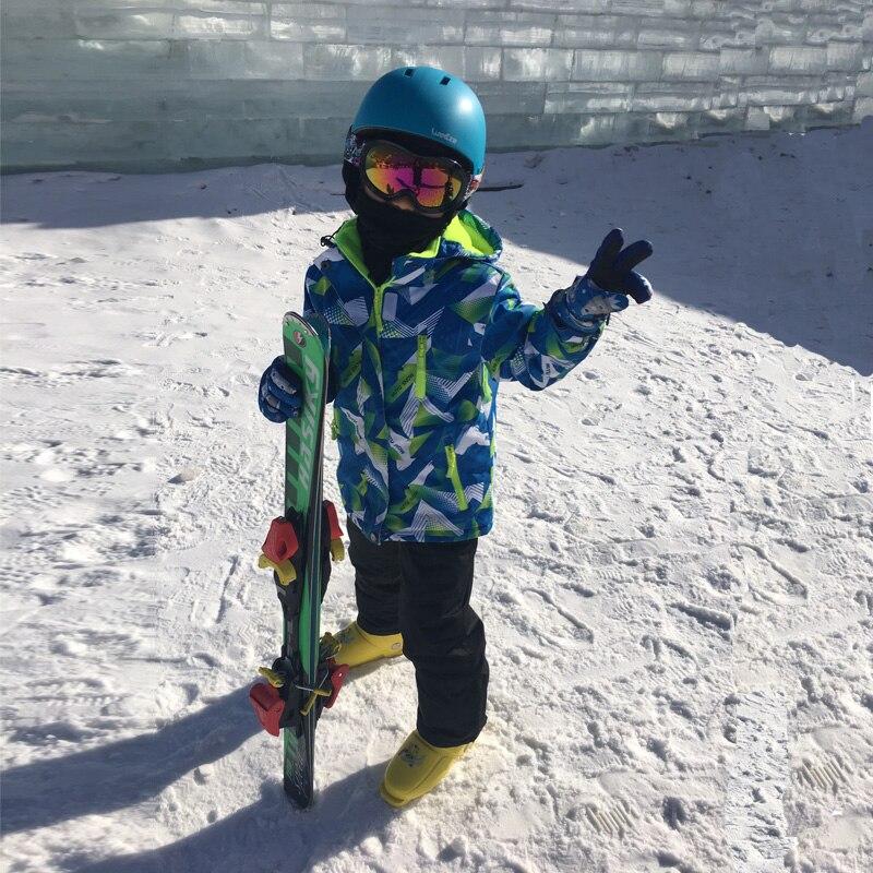 2019 nouveaux costumes de Ski enfants imperméable veste de Snowboard d'hiver chaud Ski et Snowboard vêtements veste de neige pour les marques d'enfants