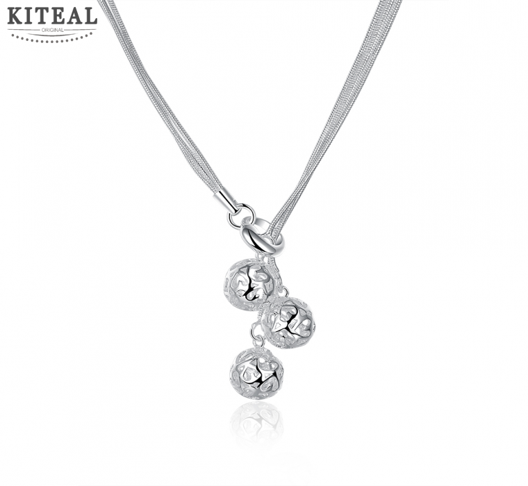 factory price top quality 925 sterling silver jewelry necklace fashion cute necklace pendant hot sell SMTN199