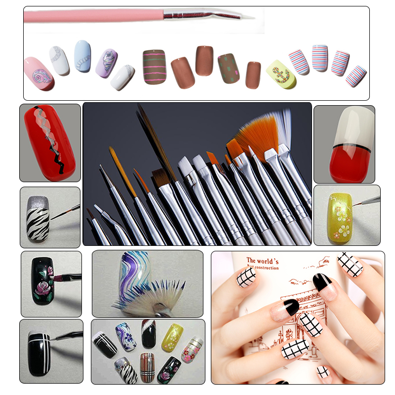 Nail Polish Tools Set To Bend Light