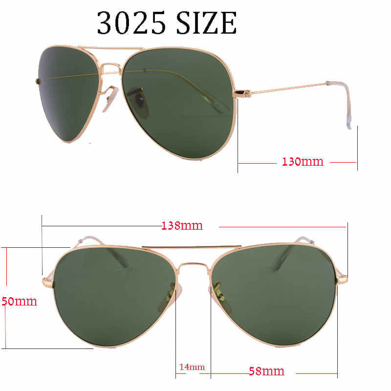 2019  dpz Glass lenses Gradient women sunglasses men 58mm 3025 Mirror G15 Gafas  hot rayeds Brand sun glasses UV400 with case
