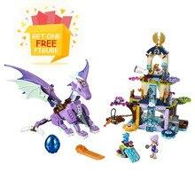 Bela Elves Rosalyn's Healing Hideout Dragon Совместимость Legoe Girls Friends Building Blocks Bricks Toys Совместимость с lepine