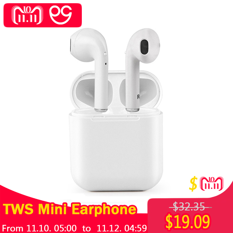 OGV TWS Bluetooth Kopfhörer i7s Mini Wahre Wireless Ohrhörer Headset Für apple kopfhörer iPhone Android Lade Box Samsung