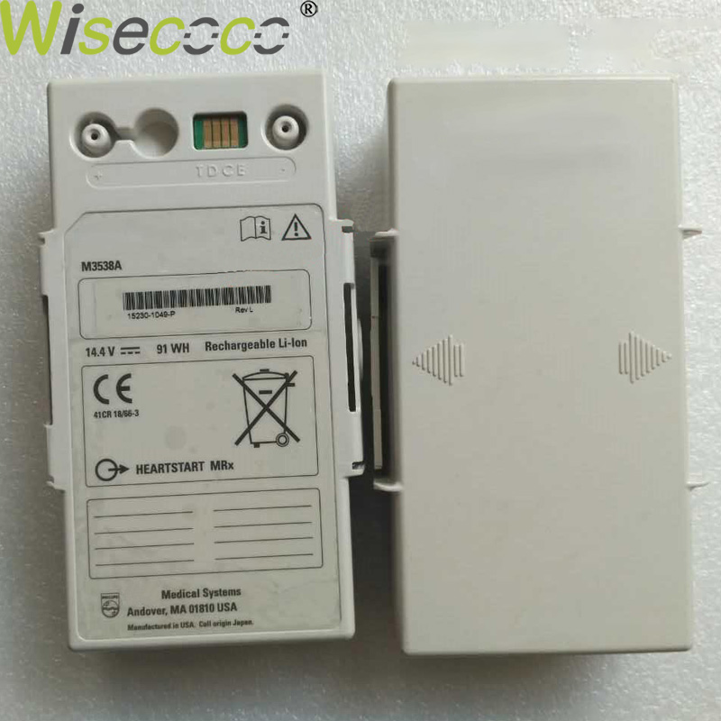 Wisecoco 91Wh New Defibrillator Battery For Philips M3535A M3536A M3538A+Tracking NumberWisecoco 91Wh New Defibrillator Battery For Philips M3535A M3536A M3538A+Tracking Number