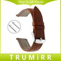 Crazy Horse Genuine Leather Watch Band Quick Release Strap For Hamilton Seiko Citizen Casio Wrist Bracelet