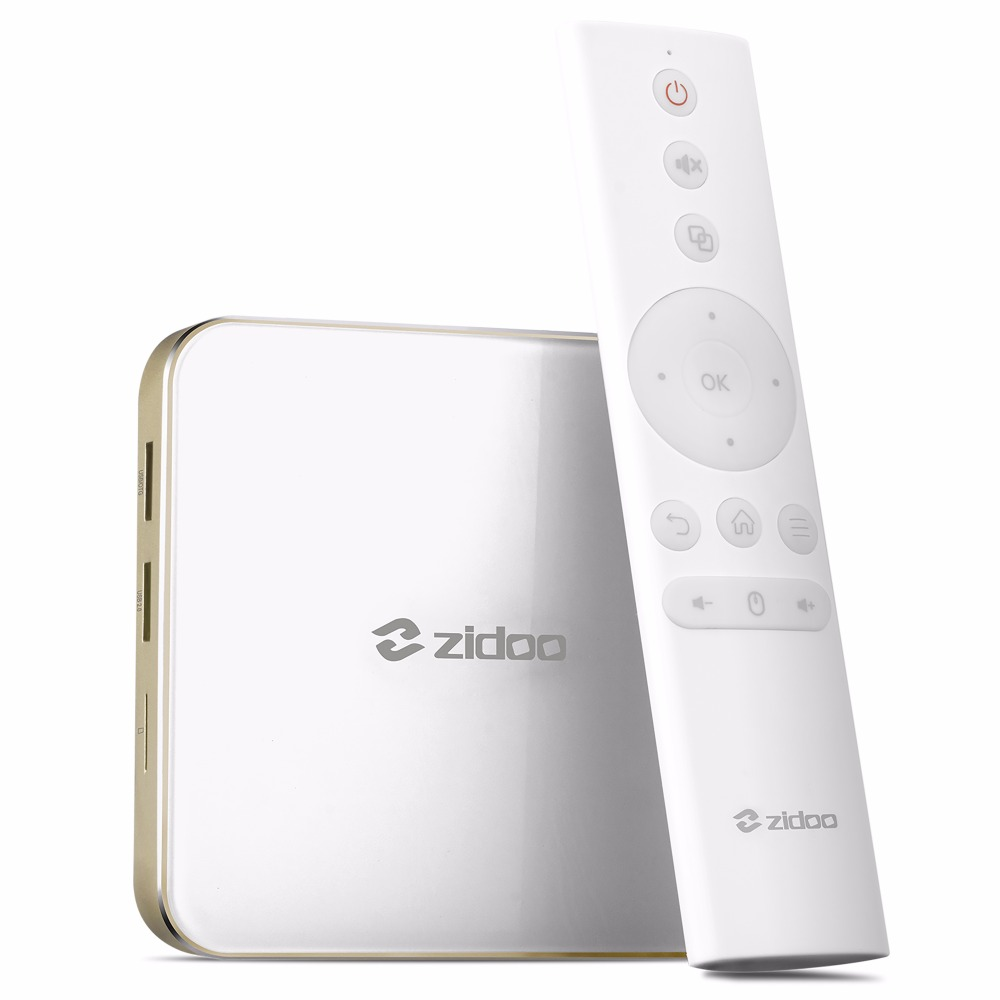Zidoo H6 PRO IPTV TV Box OS Android 7.0 2GB 16G WiFi Bluetooth HDMI Per install Kodi add on Live TV Series Movie Music смарт тв приставка zidoo x6 pro 2 16 гб с android 5 1 и wi fi