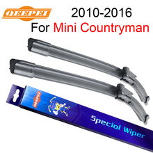 QEEPEI Wiper Blades For Mini Countryman 2010-2016 20''+19'' High Quality Iso9001 Natural Rubber Clean Front Windshield CPB1
