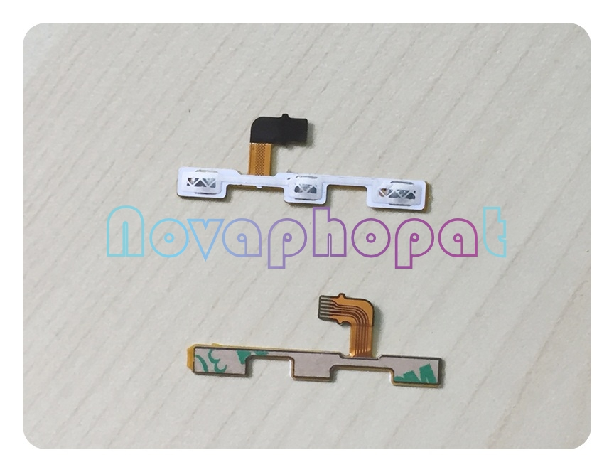 Novaphopat Power On/off Volume Switch Flex For Huawei Y5 Y5C Y541 Y541-U02 Side Button Volume Key Flex Cable Board + Tracking