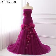 H & s свадебные фиолетовые платья для выпускного вечера 2017