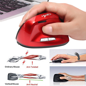 Image 2 - HXSJ X60 2400 DPI 6D 2.4 GHz Wireless Optical Verticale Gaming Mouse 6 Pulsanti per la Mano Destra Built In 1200 mAh Batteria ricaricabile