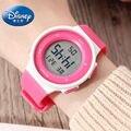Disney многофункциональные детские цифровые водонепроницаемые часы можно носить плавательные электронные часы девочка мальчик обратно в шко...