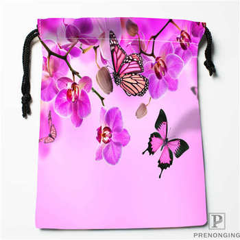 Custom Printing Orchid-Flower (1 Drawstring Shopping Bags Travel Storage Pouch Swim Hiking Toy Bag Unisex Multi Size19-01-04-53