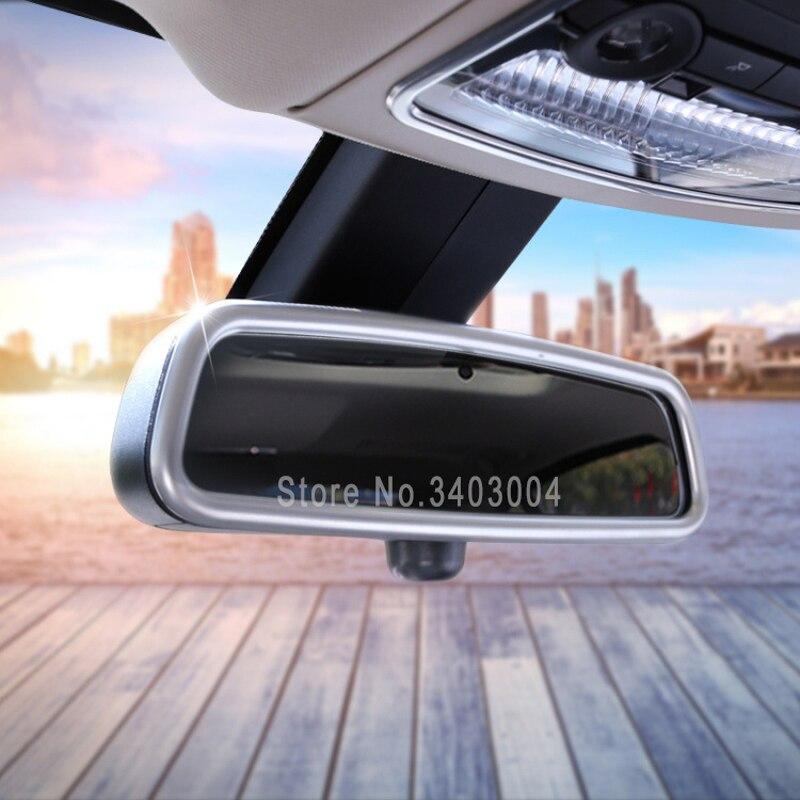 High quality cover For BMW F10 F15 F16 F25 F30 F36 X1 X3 X4 X5 X6 3 5 7 Series ABS Chrome Interior Mirror Cover Trim Accessories bigbigroad for bmw x1 f48 2016 x3 f25 f10 f30 f36 x5 f15 car wifi dvr video recorder novatek 96655 black box dash cam camera