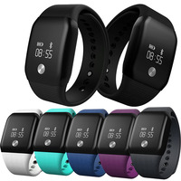 A100 Smart Bracelet Sport Pedometer SmartBand Heart Rate Fitness Watch Blood Oxygen Pressure Monitor Wristband For