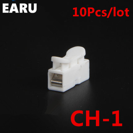 10pcs/lot 1p CH-1 G7 Spring Wire Quick Connector Splice With No Welding No Screws Cable Clamp Terminal 1 Way Easy Fit Led Strip professional welding wire feeder 24v wire feed assembly 0 8 1 0mm 03 04 detault wire feeder mig mag welding machine ssj 18