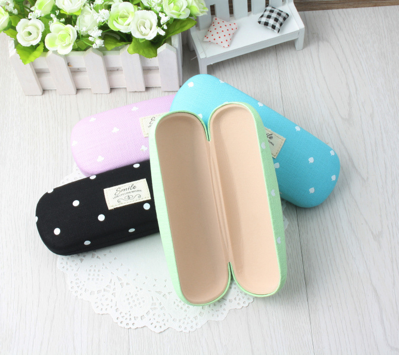 LIUSVENTINA Hot Sale High Quality Cute Simple Cloth Frame Glasses Box Sunglasses Case Gift for Girls and Friends in Eyewear Accessories from Apparel Accessories