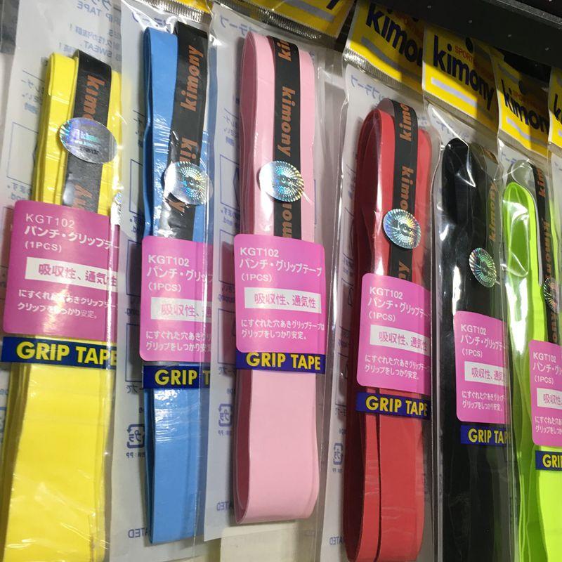 Бесплатная доставка 50 шт. KK качество тонкие липкие Теннис ракетка овергрипы, Бадминтон сцепление, Теннис ручки (разные цвета)
