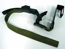 Tactical NVG Night Vision Goggle Helmet Mount Strap Black Tan