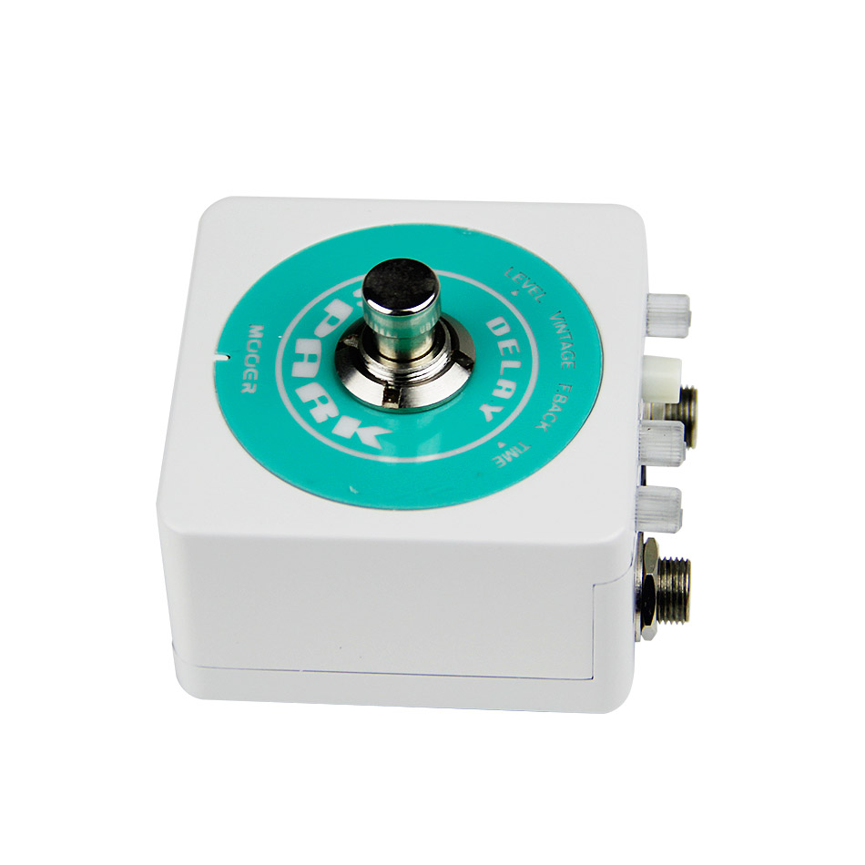 Mooer Spark Delay True Bypass Guitar Effects Pedal Classic Analog Delay Guitar Pedal Guitar Accessories mooer single acoustic delay chorus effects true bypass baby water effect guitar pedal
