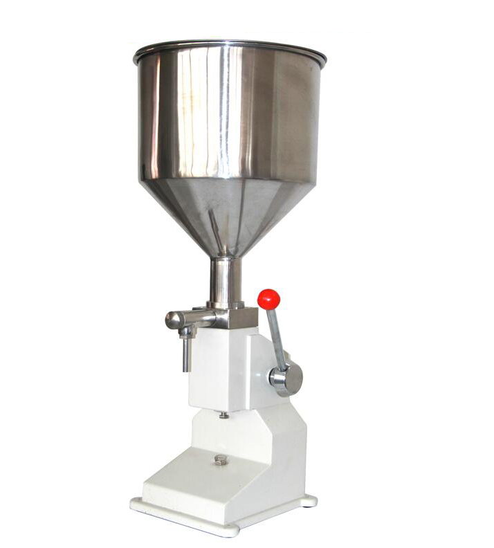 Food filling machine Manual hand pressure stainless paste dispensing liquid packaging equipment sold cream machine 0 ~ 50ml free shipping manual filling machine 5 50ml for cream best price in aliexpress liquid or paste filling machine