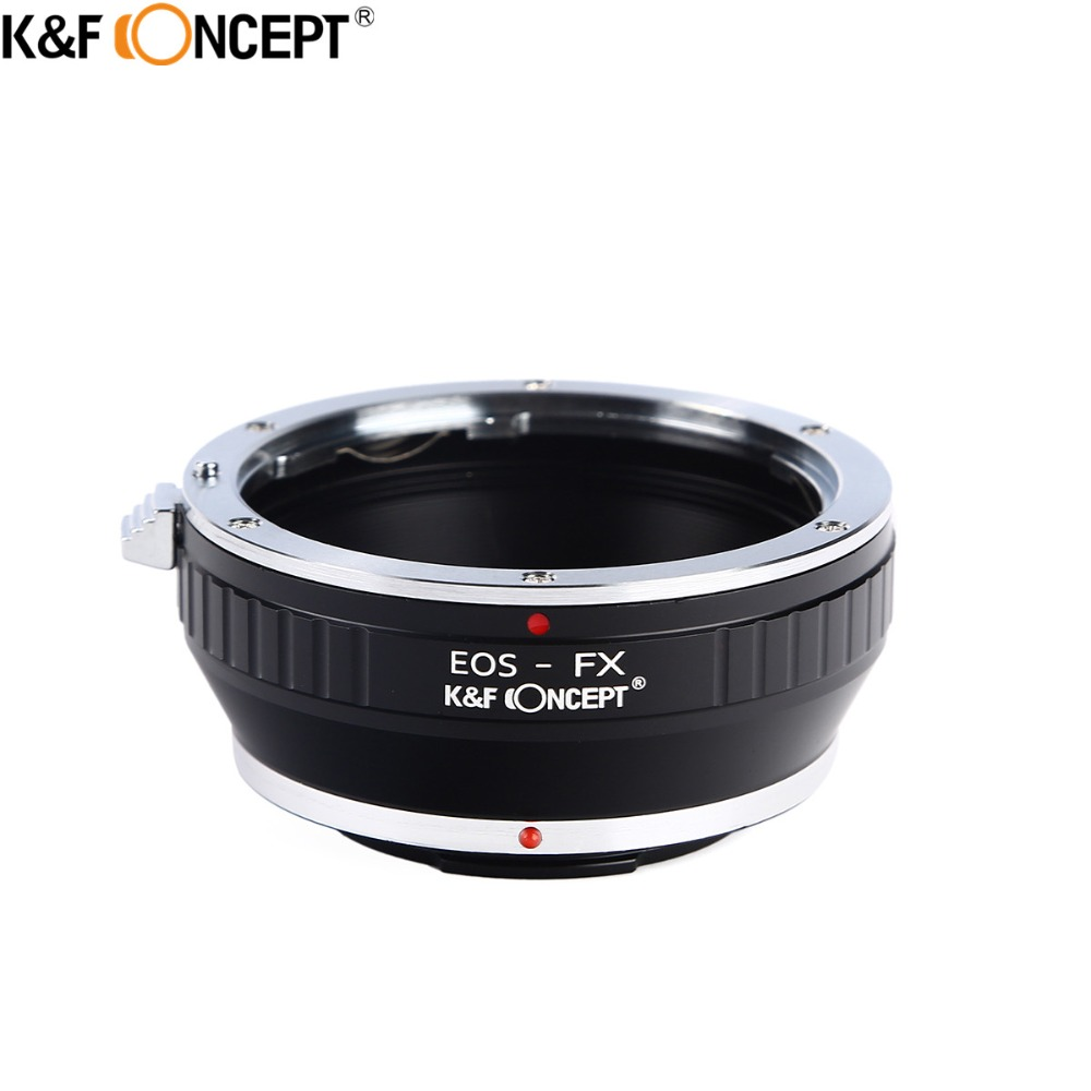 K & F CONCEPT EOS-FX Camera Lens Adapter Ring Pour Canon EOS Objectif pour Fujifilm X Mont Fuji X-Pro1 X-E1 X-M1 X-E2 M42 X-T1