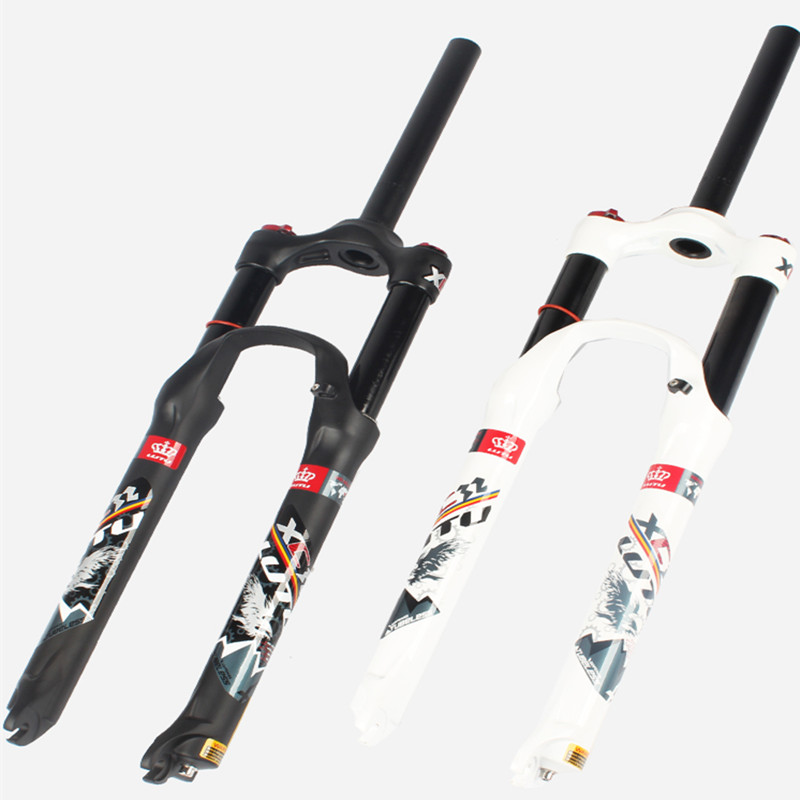 MEROCA air shock absorber front fork Mountain bike gas fork 26/27.5/29 inch Shoulder control lock Damped front fork xuankun motorcycle accessories 125 cbt125 front shock absorber cbt125 front fork
