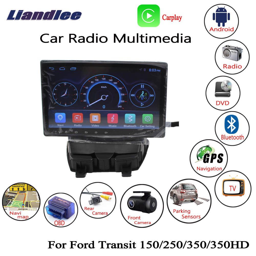 Liandlee For Ford Transit 150 250 350 350HD 2017~2018