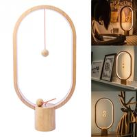 5W balance lamp Ellipse magnetic mid air switch USB powered LED lamp Night Lamp Table Lamp Cool Gift Decor