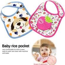 1PC Newborn Baby Boys Girls Cute Saliva Towel Feed Triangle Cotton Bibs Dribble Bandana Scarf
