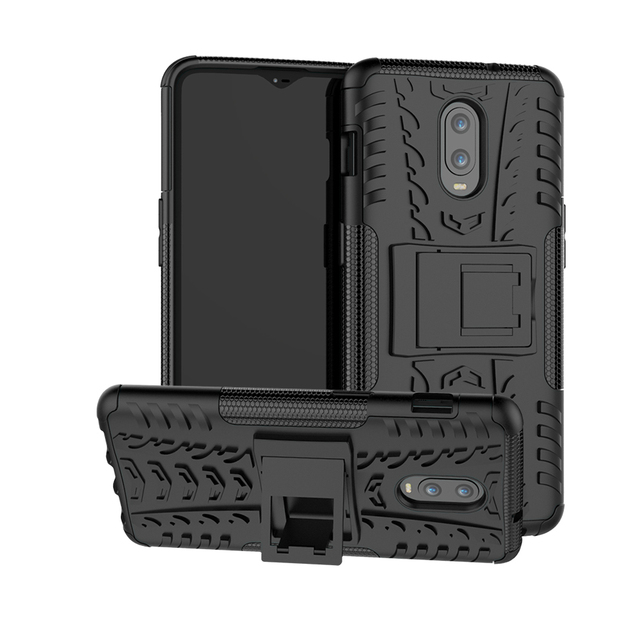 the best attitude 66664 0cc79 US $3.52 |Aliexpress.com : Buy For OnePlus 6T Case 1+6T Rugged Armor Heavy  Duty Silicone Hard PC Cover For One Plus 6 Rubber Phone Case For OnePlus 6  ...
