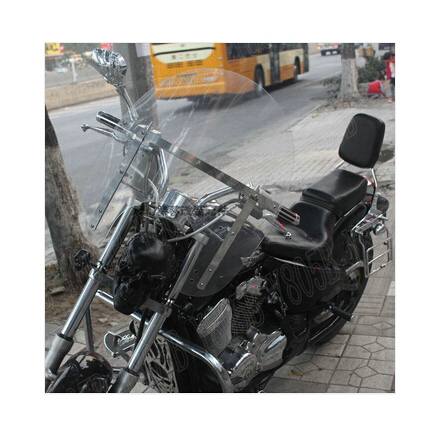 US $130 99 |Motorcycle Windshield Windscreen For Honda Yamaha Suzuki  Kawasaki Harley Bobber Custom Chopper Cruisers Street Bike-in Windscreens &  Wind