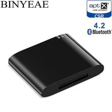 d0d4f4ebd9a 30pin Bluetooth 4.2 Aptx Baixa Latência 30 Pin stereo Adaptador de áudio  Receptor de Música para Bose SoundDock II 2 IX 10 falan.