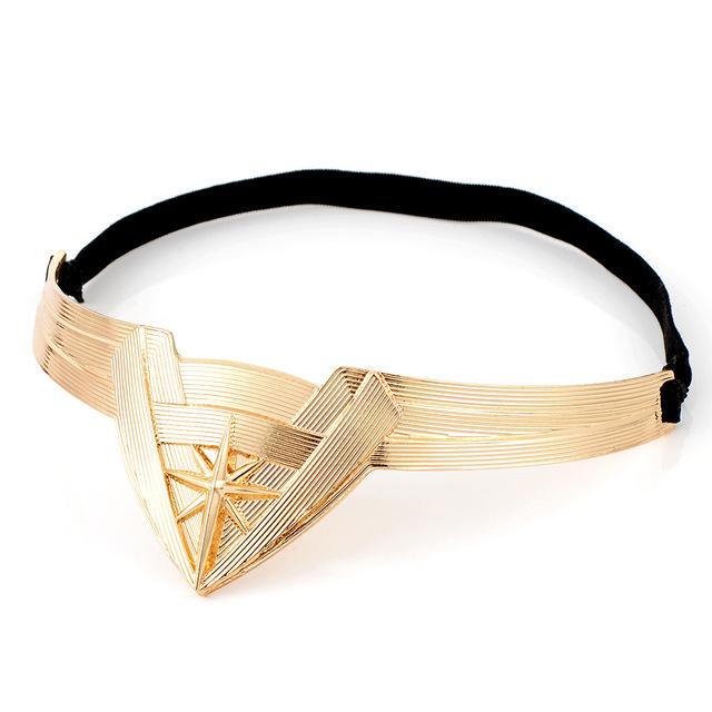 New Wonder Woman Headband Brides Headwear