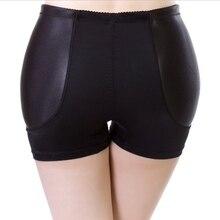 Women Large Size High Waist Padded Butt Hip Enhancer Panties Shaper XL Underwear