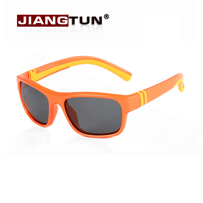 JIANGTUN Fashion Trendy Child Kids Boys Girls Polarized Sunglasses UV 400 Shades Baby Cool Goggles Sun Glasses