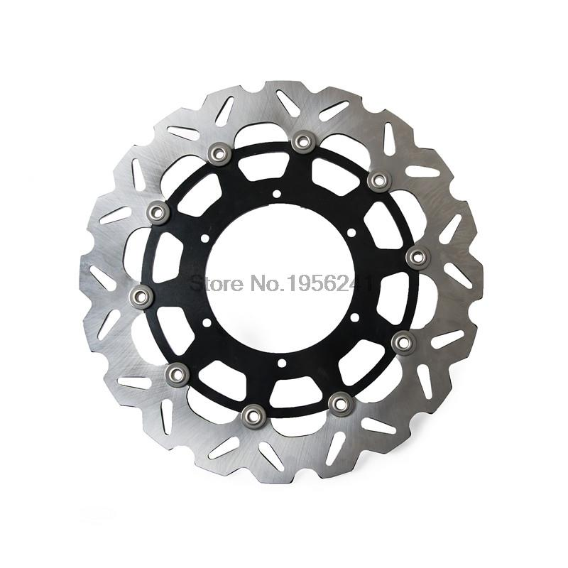 320mm Supermotor Floating Brake Disc Rotor For Suzuki RM125 RM125SM RM250 RMX250S DRZ400E DRZ400S DRZ400 E/S keoghs real adelin 260mm floating brake disc high quality for yamaha scooter cygnus modify