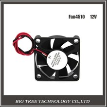 10pcs High Quality Mini Fan 45x45x10 mm 4510 Laptop Cooling Fan 4510 12V DC brushless cooling fan 3D0016(China (Mainland))