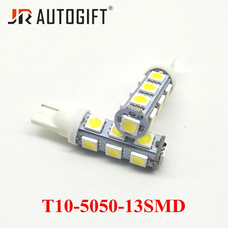 Super Bright 5 SMD 501 T10 Sidelight Bulbs W5W Pack of 2 8 W 12 V
