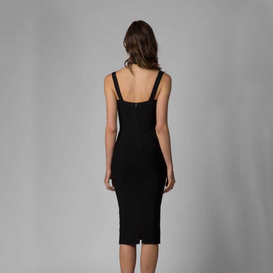 FH22 Leger Babe 2019 летние Бальные нарядные праздничные вечерние платья без рукавов кинсеанерас цвет: черный, синий высокая горловина плотная до колен облегающее платье Для женщин