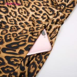 Image 5 - Belle Poque Leopard Print High Waist Skirt Pleated Midi Women Autumn Winter Flared Skirt Fashion Bow Party Skirt Gothic Vintage