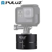PULUZ Camra Time lapse 360 Panoramic Panning Rotation 120 Minutes For Gopro Stabilizer Tripod Head 1/4 screw Adapter Timelapse(China)